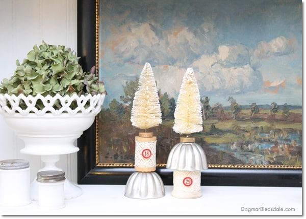 vintage Jello mold art