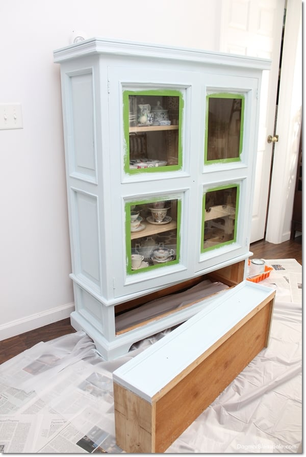 easy tutorial refinishing furniture paint, DagmarBleasdale.com