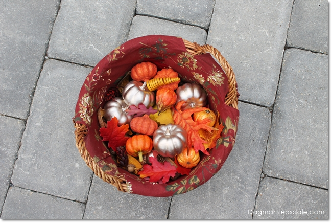 Simple Fall Decorations: Fill Lanterns With Pumpkins, DagmarBleasdale.com