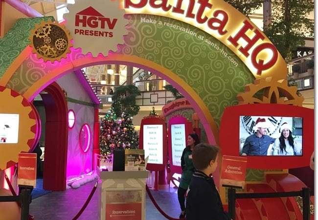 Meet Santa at HGTV's Santa HQ at Danbury Fair Mall, CT