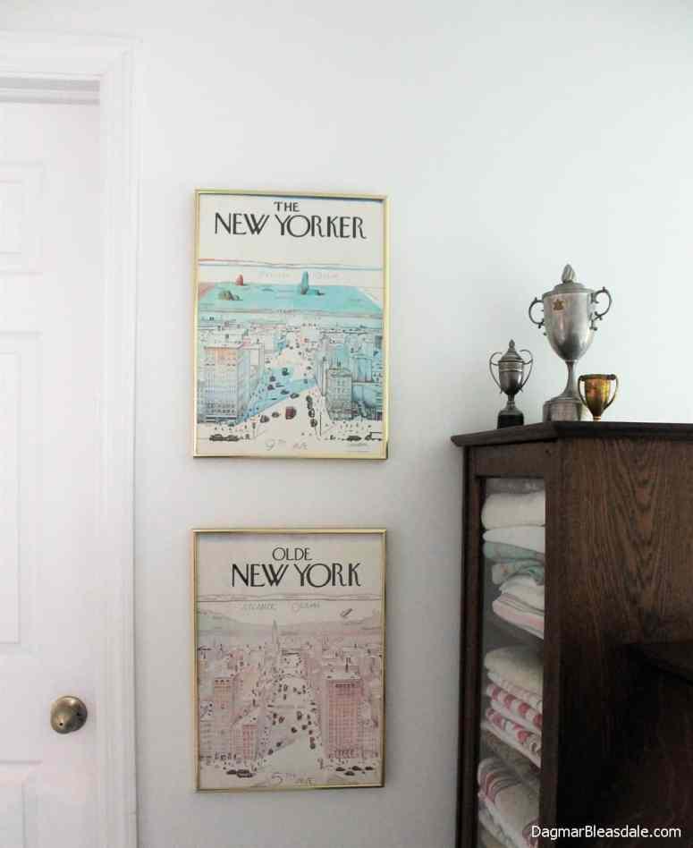 The New Yorkter vintage print, DagmarBleasdale.com