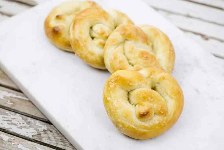 Soft Pretzels recipe
