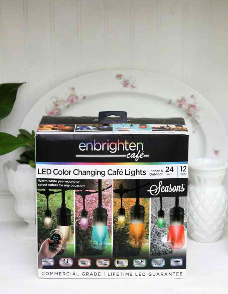 Enbrighten Seasons Color Changing Café Lights