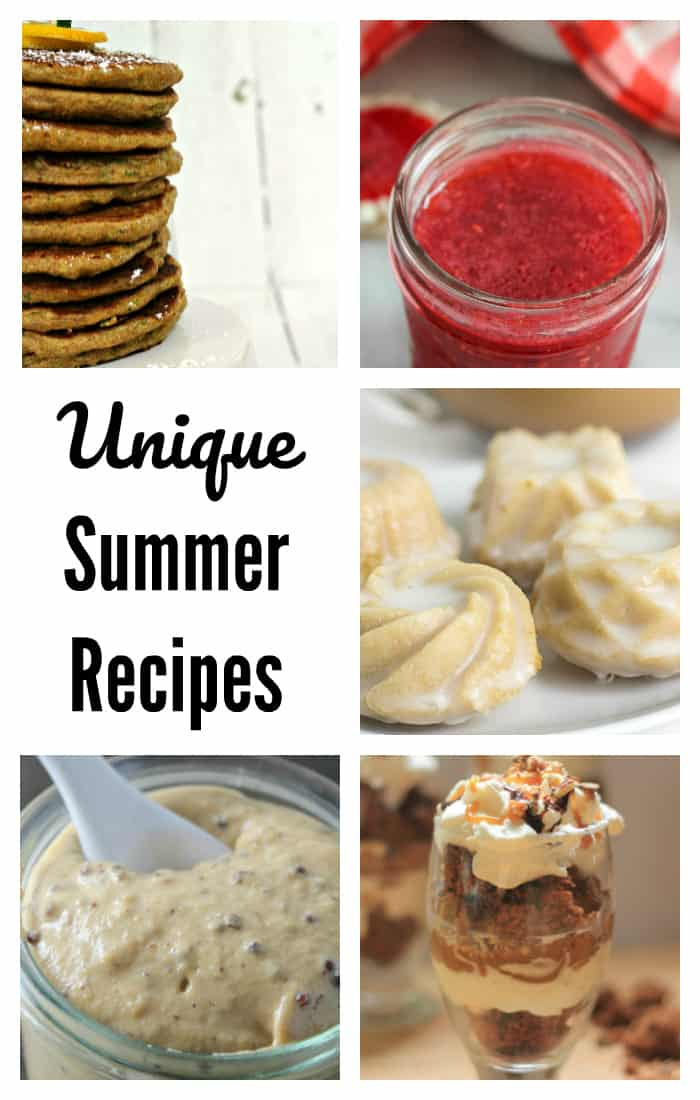 Unique Recipes for Summer