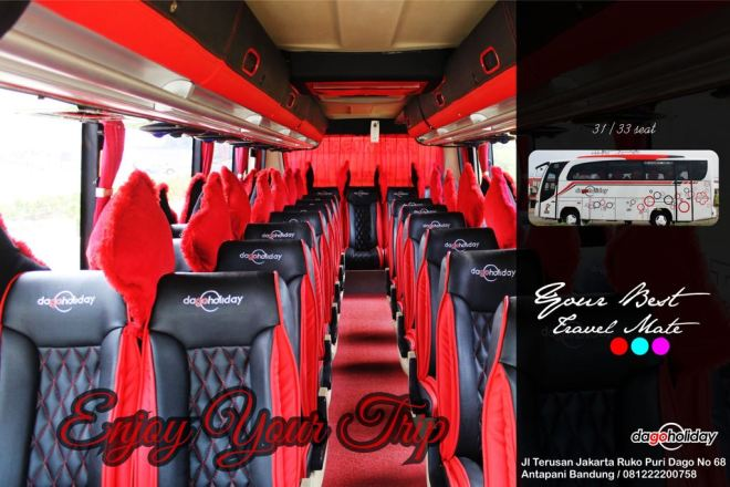 Bus Pariwisata Bandung Dago Holiday