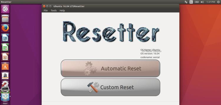 Resetter Ubuntu