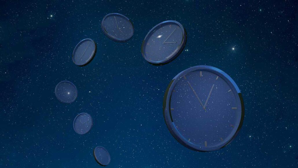 Los relojes a diferentes alturas marcan a diferentes velocidades. Un reloj atómico ha revelado ahora esta característica clave de la teoría general de la relatividad en una escala de un milímetro. Hiroshi Watanabe/Getty Images