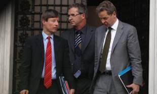 gli ispettori della troika ad atene
