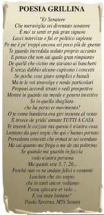 POESIA GRILLINA