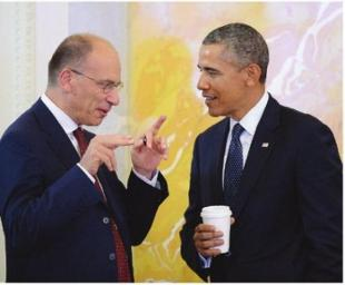 Enrico Letta a colloquio con obama article