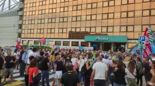 protesta alitalia 3