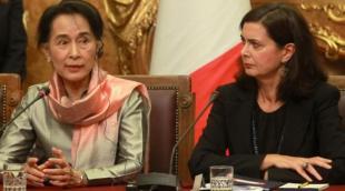LAURA BOLDRINI E AUNG SAN SUU KYI