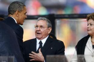 Dopo i discorsi sulla riconciliazione ecco la prima azione tra obama raul castro e dilma rousseff