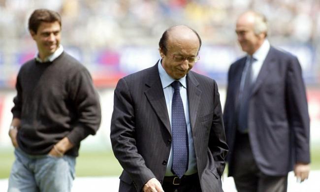 Andrea Agnelli insieme con Luciano Moggi e Antonio Giraudo ai tempi delle partite truccate di Calciopoli