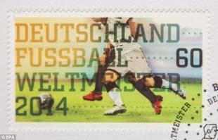 cinque milioni di francobolli stampati con la vittoria mondiale