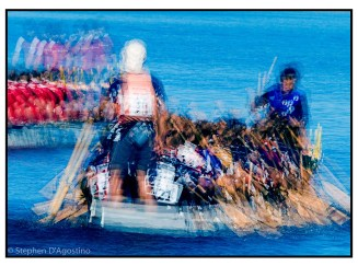 The dragon boaters 5 - Toronto 2006. An example of photo impressionism.