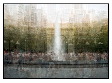 The fountain, Washington Square New York © Stephen D'Agostino