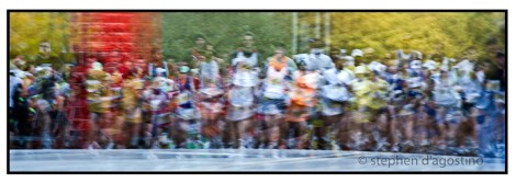 The marathoners - Toronto © Stephen D'Agostino