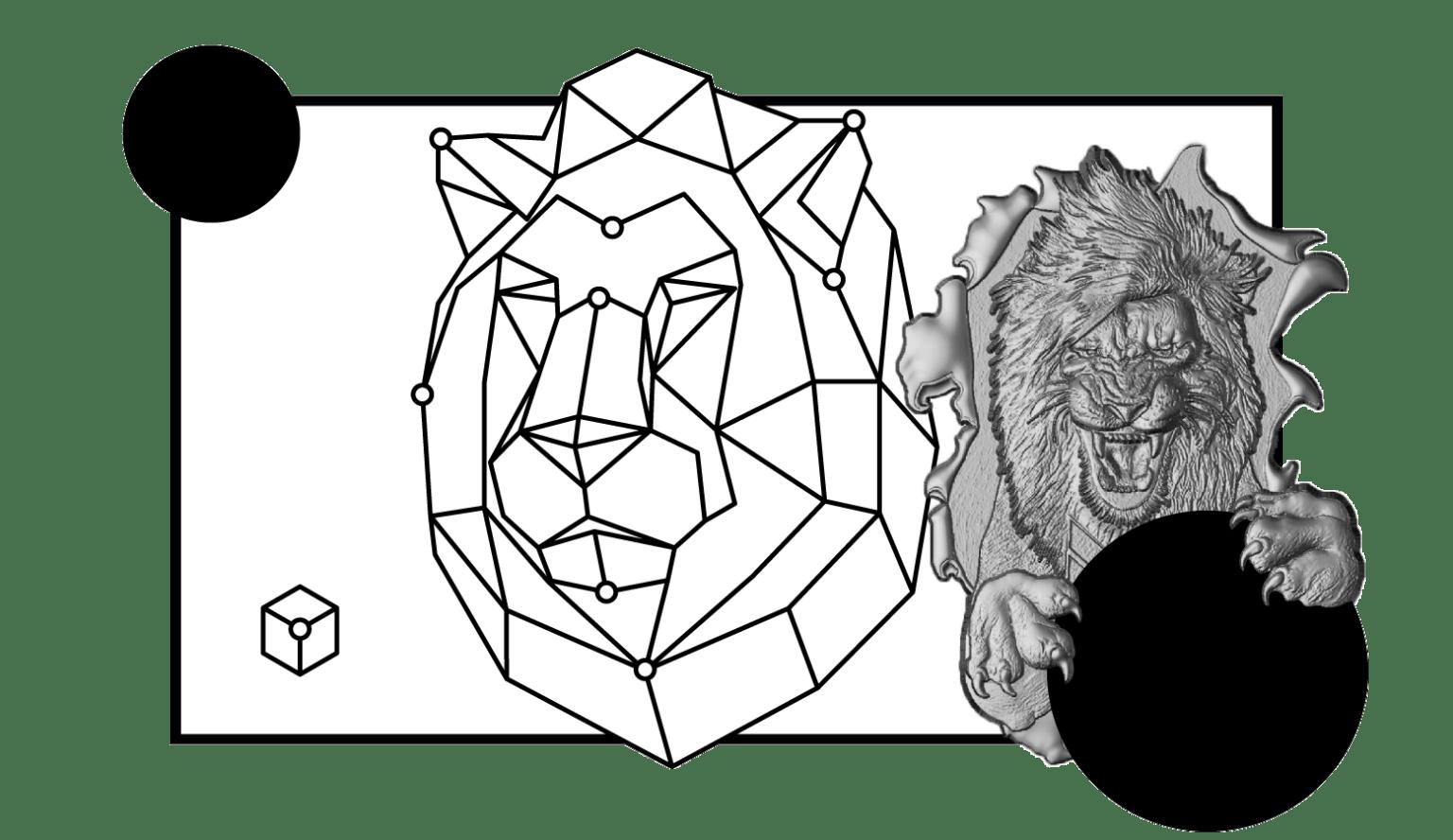 Modellazione bassorilievi 3D Torino