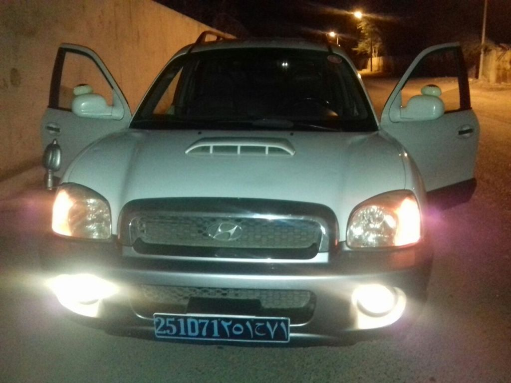 Hyundai SantaFe Gold Modele Djibouti