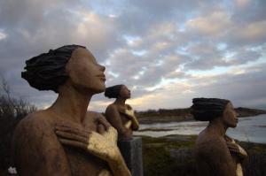 Ingun Dahlin kystkvinne keramikk