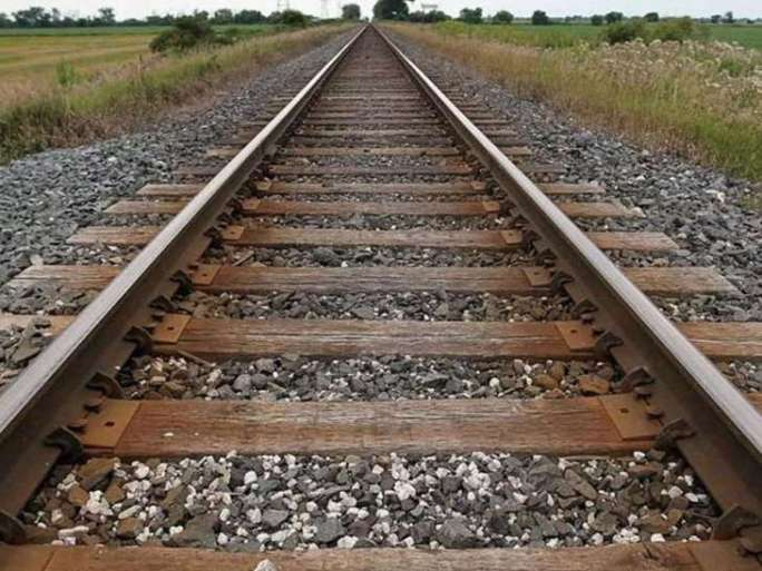 Last Call Of Death AT Railway Track, The Youth Crushed Below Speedy Train