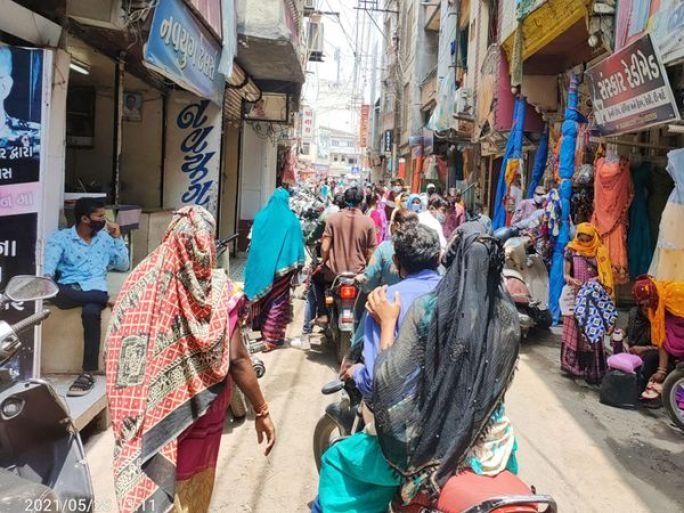કોરોના ગાઈડલાઈનના ઉલ્લંઘનકર્તાઓ સામે કડકાઈ જરૂરી - Divya Bhaskar