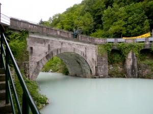 Most, po katerem ima kraj svoje današnje ime ...