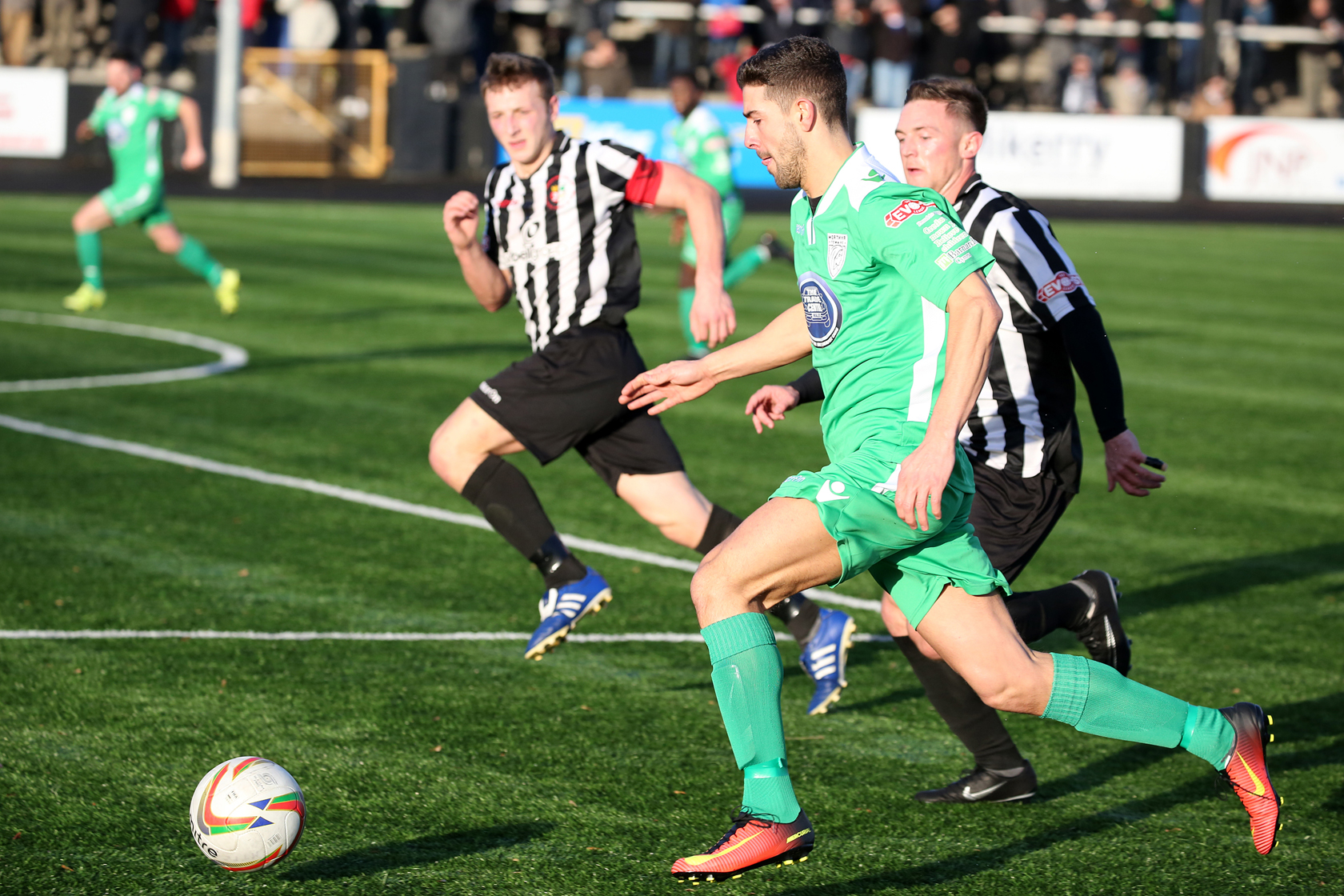 Merthyr Town Go Close, But Can't Quite Earn League Victory