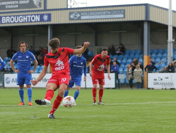 Newtown Confirm Top Scorer Oswell Will Miss Play-Offs