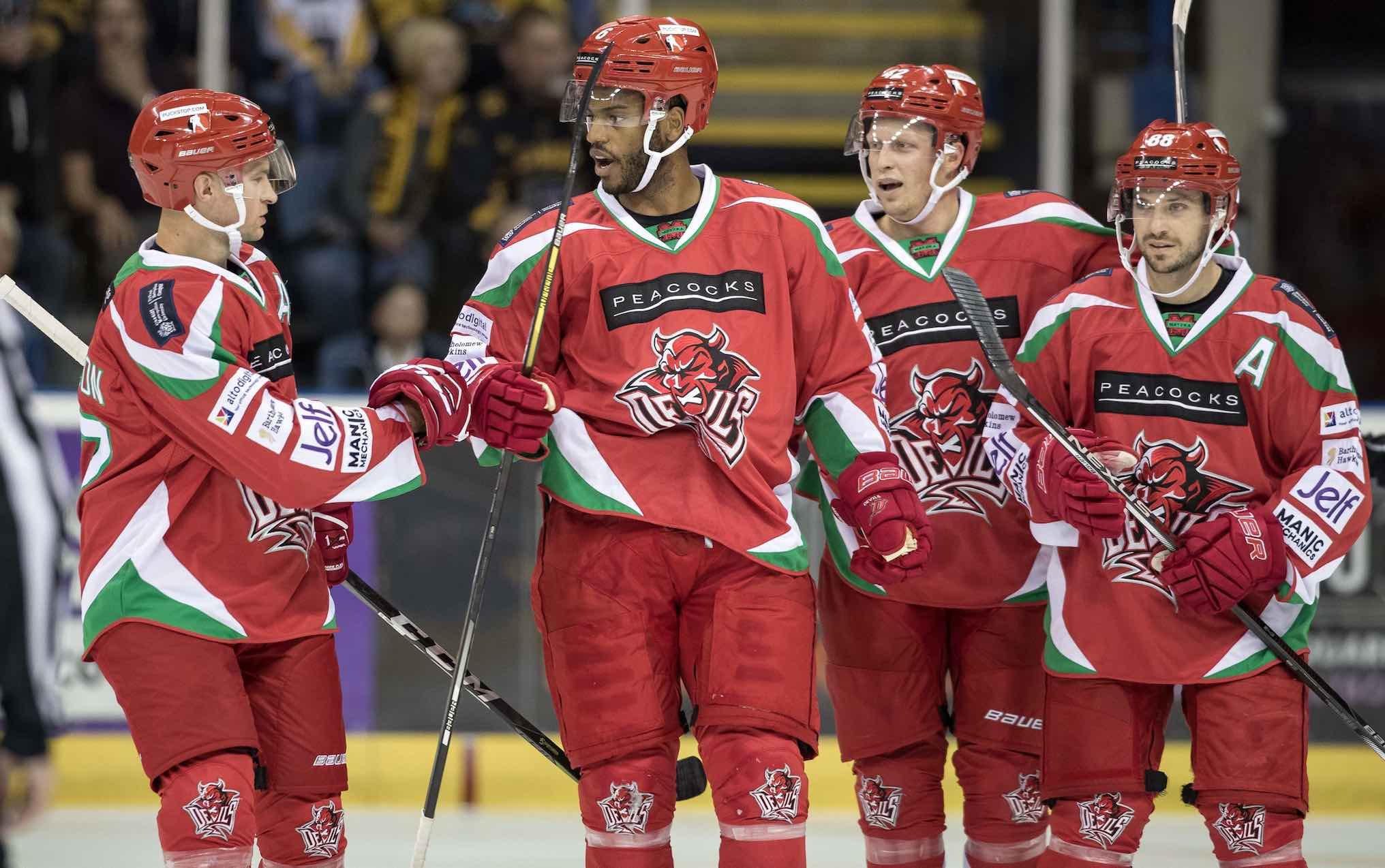 D-Man Drew Paris Makes An Impact On Cardiff Devils Debut