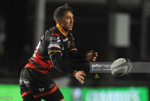 Gavin Henson pulled the strings for the Dragons in their win over Connacht.