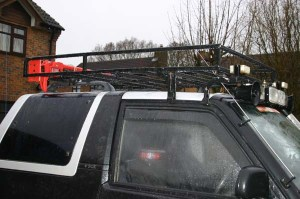 Made a roof rack | Daihatsu Drivers Club UK