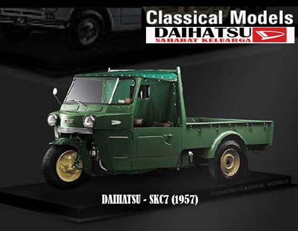 Model DAIHATSU SKC7 1957