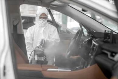 disinfeksi Interior Mobil