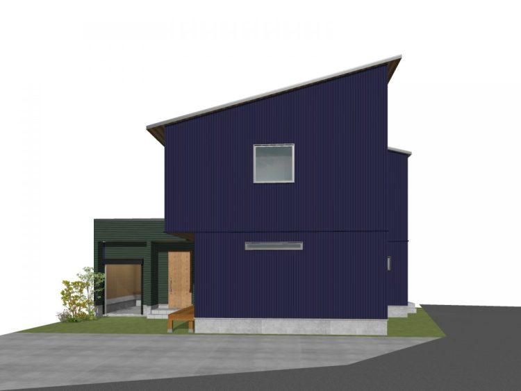 11月28日(土)・29日(日)富士市今泉【HIBIKIプレミアム】 ガルバリウムの外壁がカッコいい!バイクガレージのある家