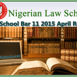 Check Your Nigeria Law School Bar 11 2015 April Result