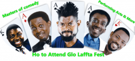 Ho to Attend Glo Laffta Fest - Masters of comedy Performing Acts