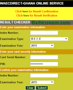 www.waecdirect.org | How to Check 2015 Waec Result Online