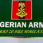 Nigeria Army 74 RRI Zonal Screening Exercise Shortlisted Candidates