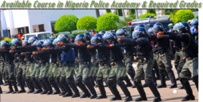 Courses Required in Nigerian Police and Required Grades