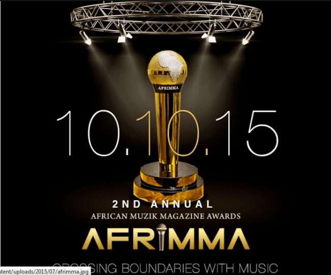 Complete List Of 2015 AFRIMMA Awards winners.