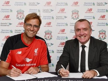 Liverpool New Manager Jurgen Klopp