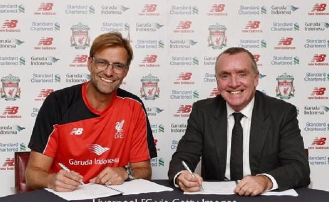 Liverpool New Manager Jurgen Klopp