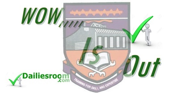 2015 ADO POLY Post UTME Results