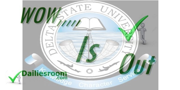 2015 Delsu Admission List out - Check Now