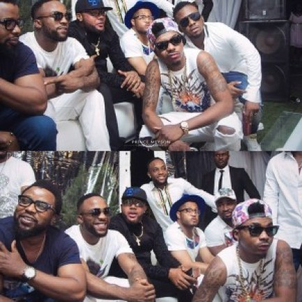 Iyanya 29th Birthday Party with All White Lavish Celebration