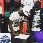 Adidas Sign Peter Okoye of P-Square now Ambassador