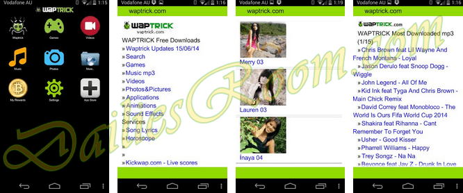free download waptrickcom app for game music videos