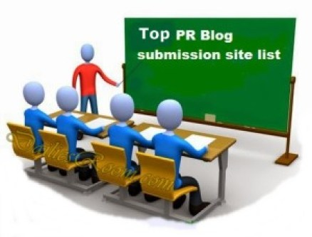 Top PR Blog Submission site list for 2016